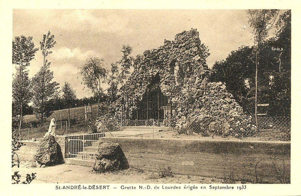 Grotte ND des Lourdes 1933